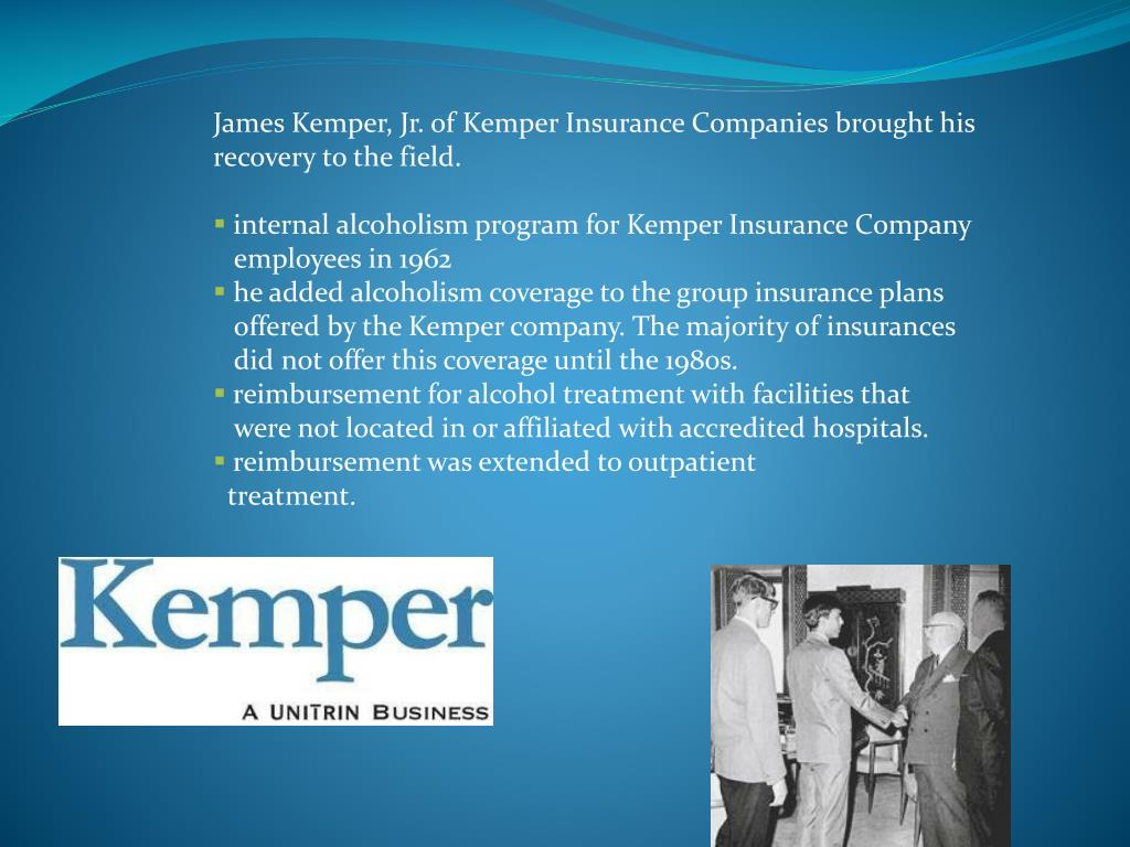 James Kemper, Jr. of Kemper Insurance Companies brought his