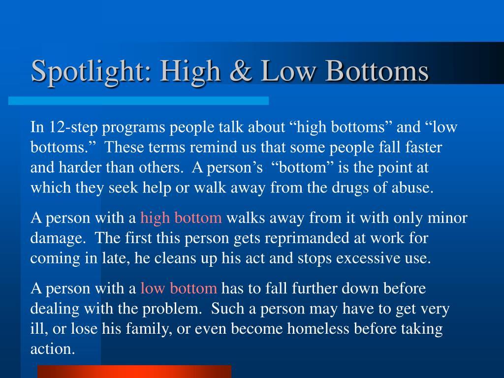 Spotlight: High & Low Bottoms