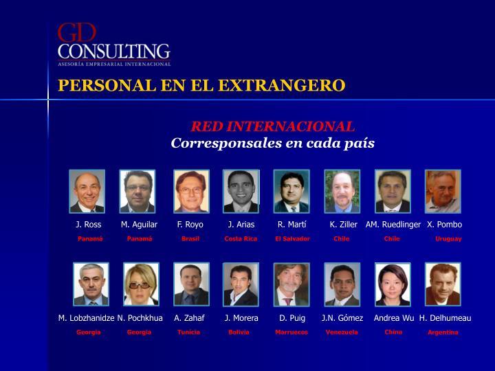 PERSONAL EN EL