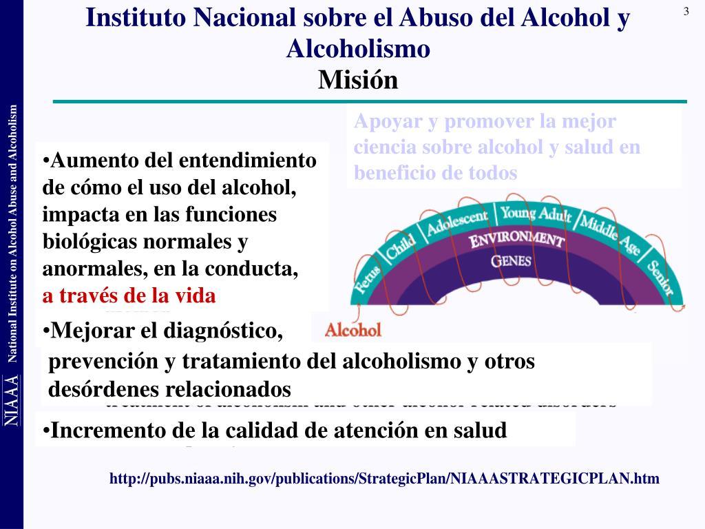 Instituto Nacional sobre el Abuso del Alcohol y Alcoholismo