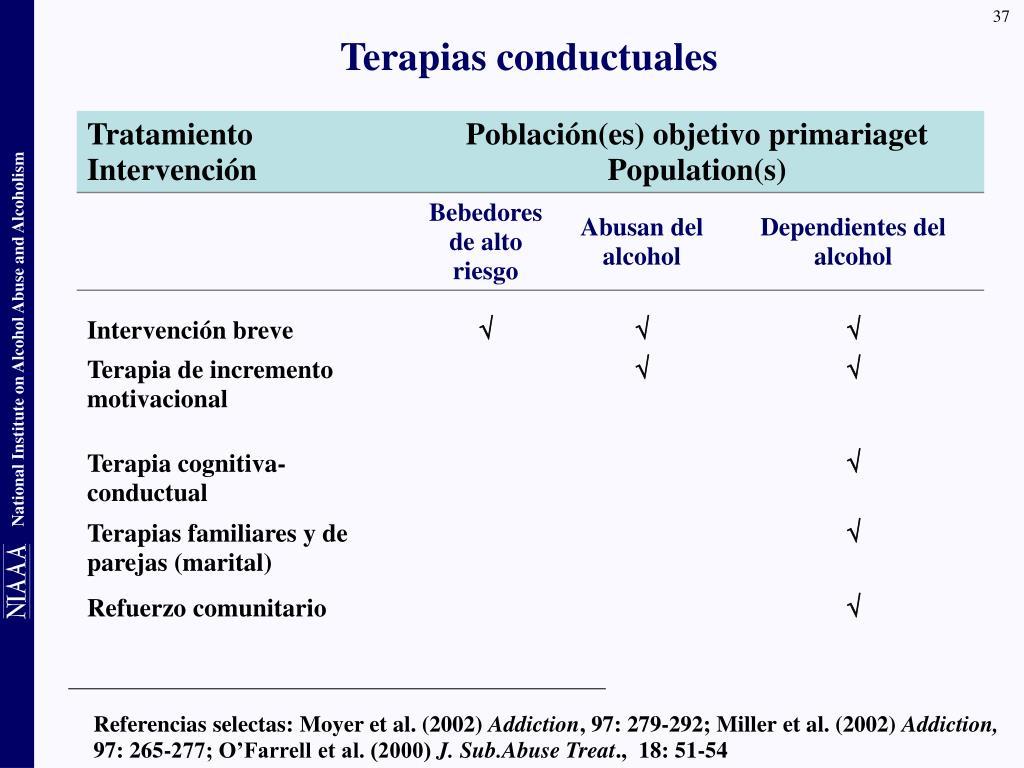 Referencias selectas: Moyer et al. (2002)