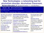 new technologies a networking tool for alcoholism disorder alcoholism classroom