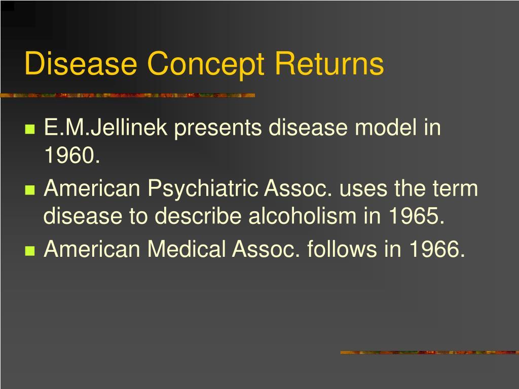 Disease Concept Returns