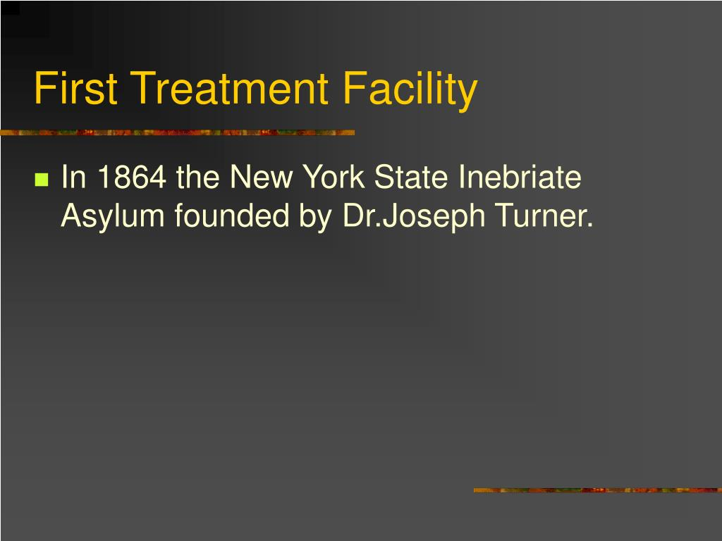 First Treatment Facility