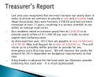 treasurer s report1