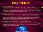 help sources