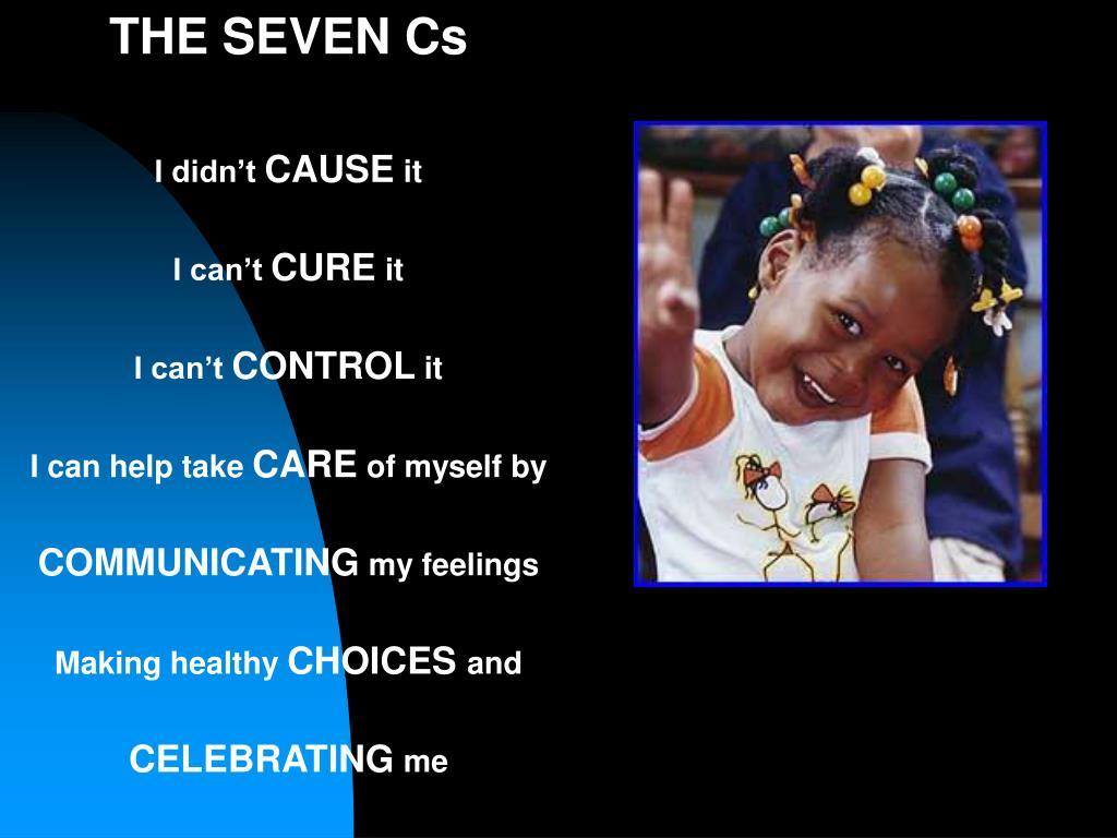 THE SEVEN Cs