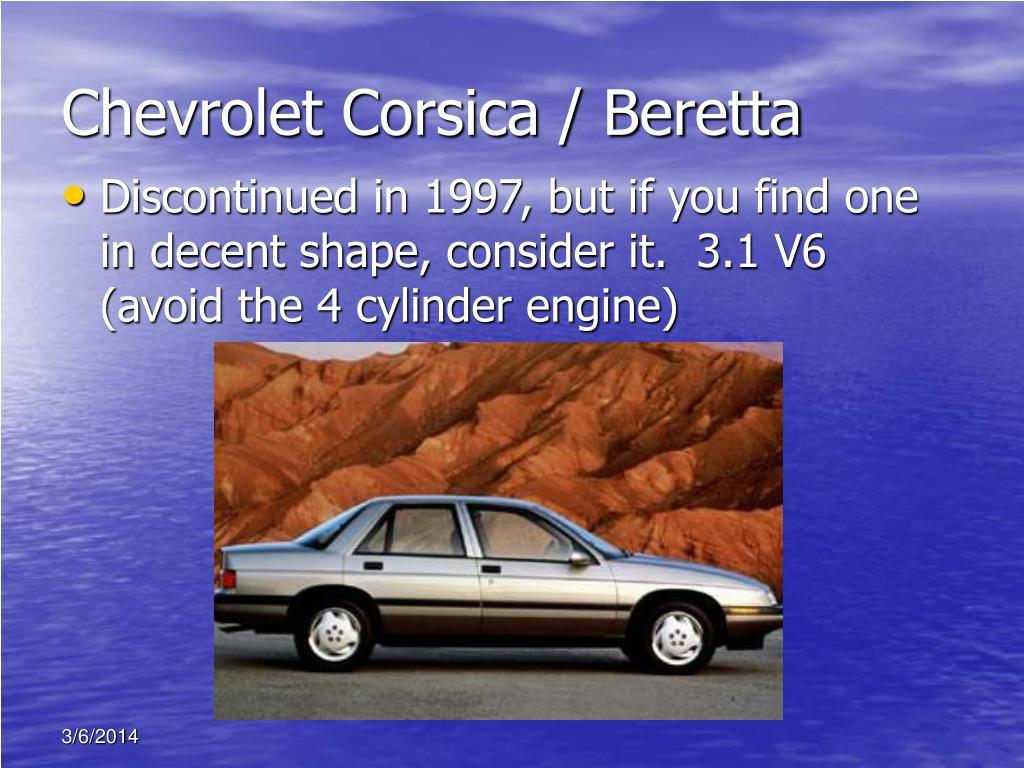 Chevrolet Corsica / Beretta