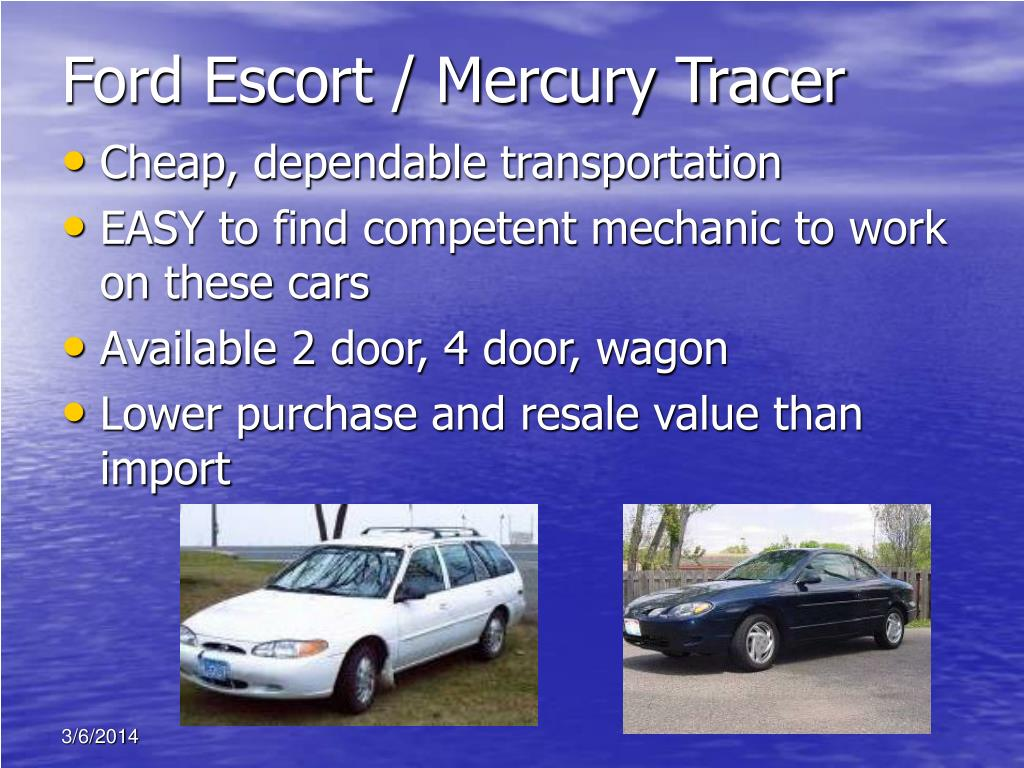 Ford Escort / Mercury Tracer