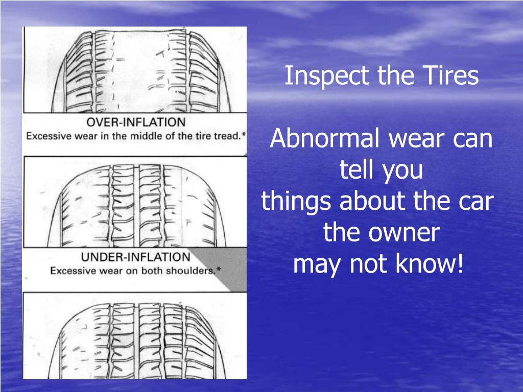 Inspect the Tires