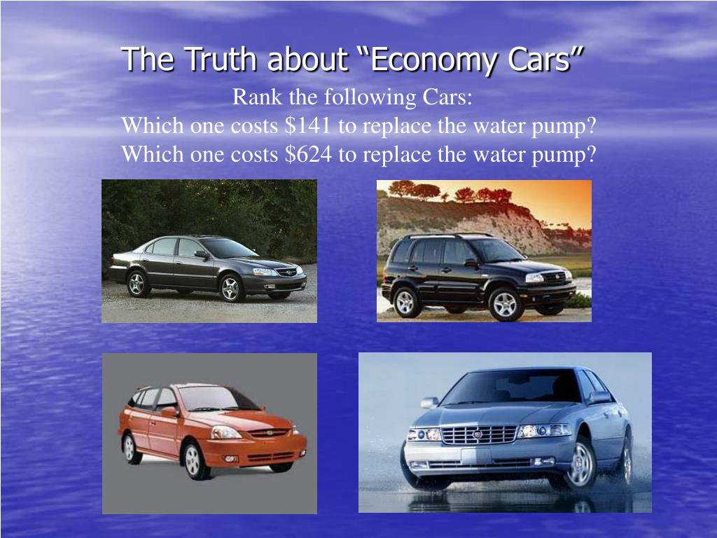 "The Truth about ""Economy Cars"""
