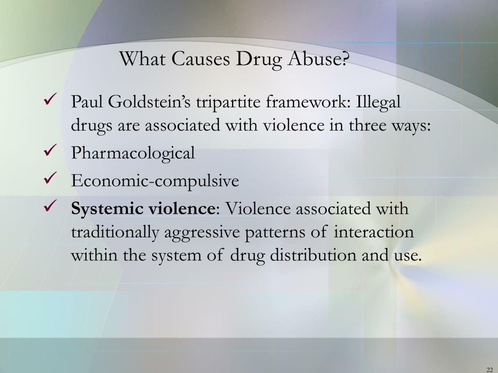 What Causes Drug Abuse?