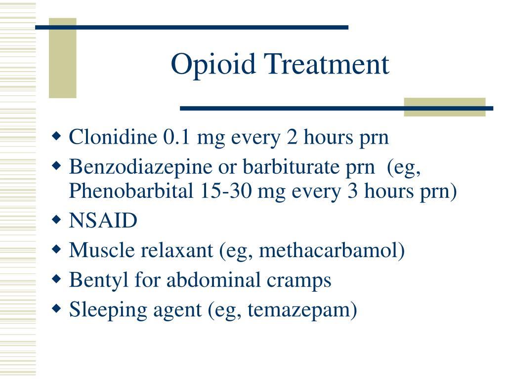Opioid Treatment