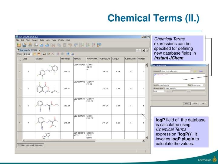 Chemical Terms (II.)
