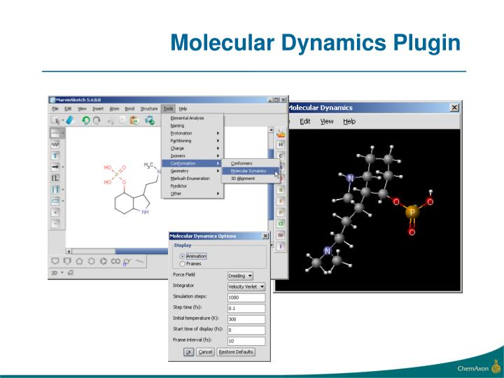 Molecular Dynamics Plugin