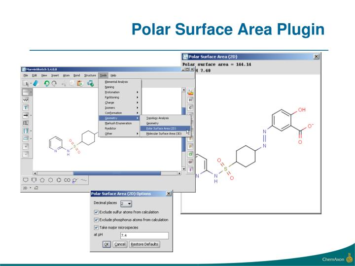Polar Surface Area Plugin