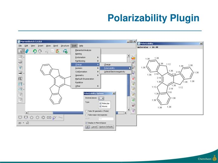 Polarizability Plugin