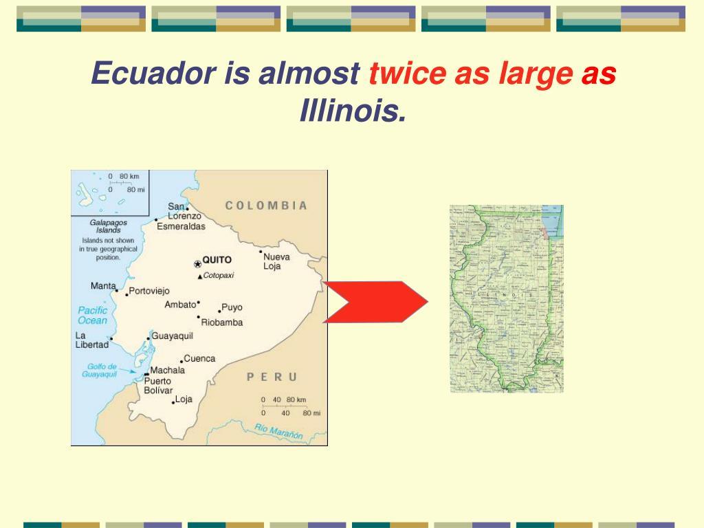 Ecuador is almost