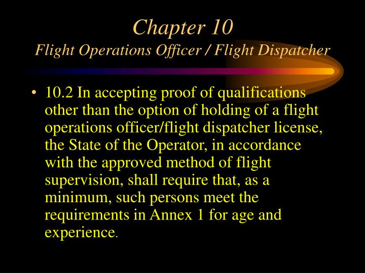 ppt faa icao annex 6 proposal oversight issues in