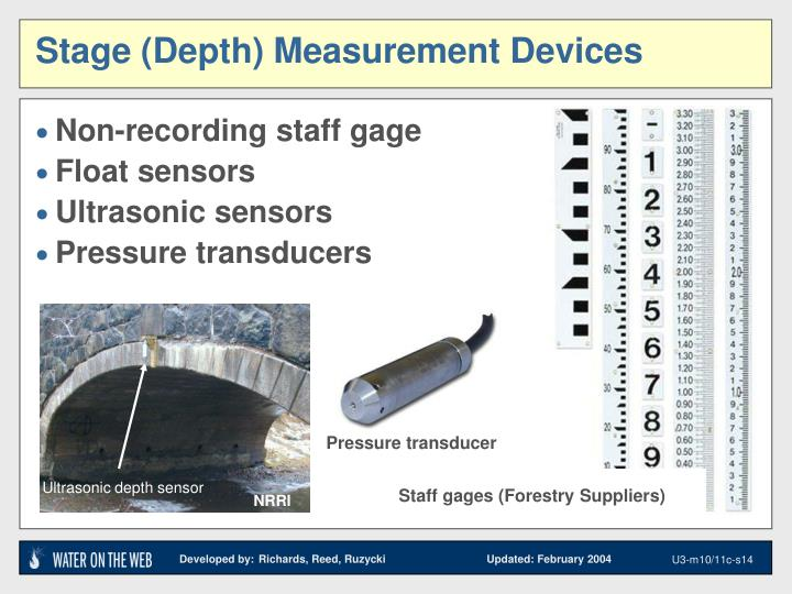 Ultrasonic depth sensor