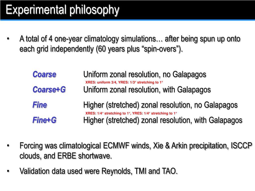 Experimental philosophy