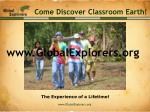 come discover classroom earth69