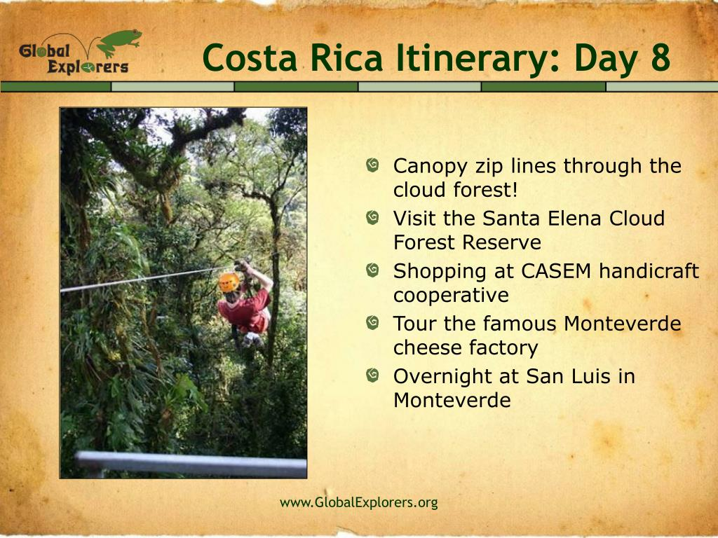 Costa Rica Itinerary: Day 8