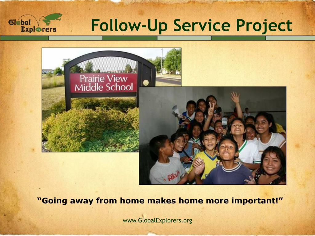 Follow-Up Service Project