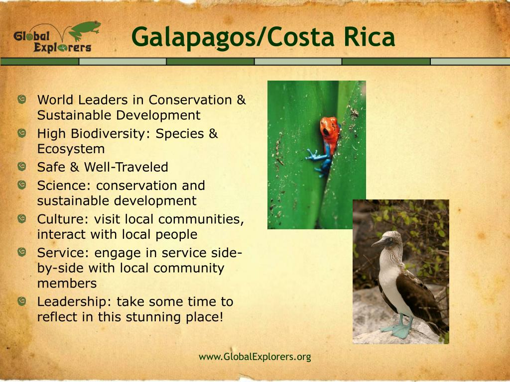 Galapagos/Costa Rica