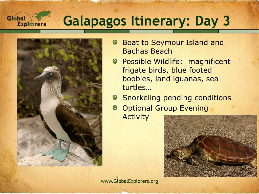 Galapagos Itinerary: Day 3