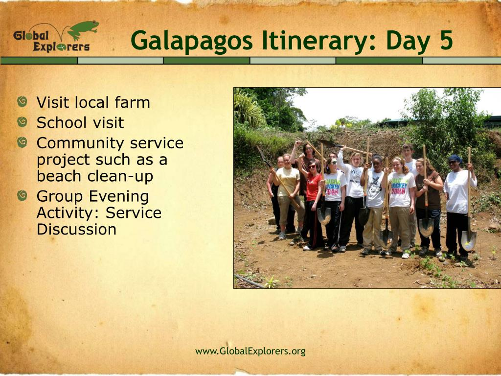 Galapagos Itinerary: Day 5