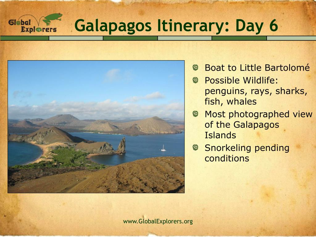 Galapagos Itinerary: Day 6