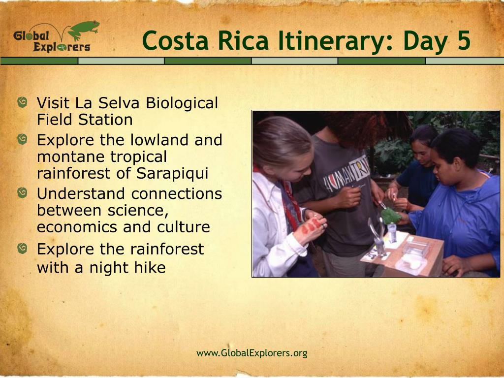 Costa Rica Itinerary: Day 5