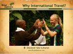 why international travel5