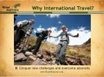 why international travel8