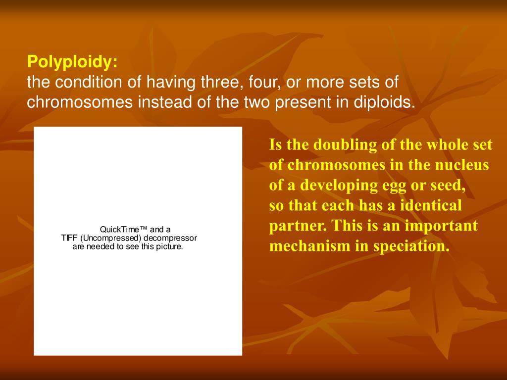 Polyploidy: