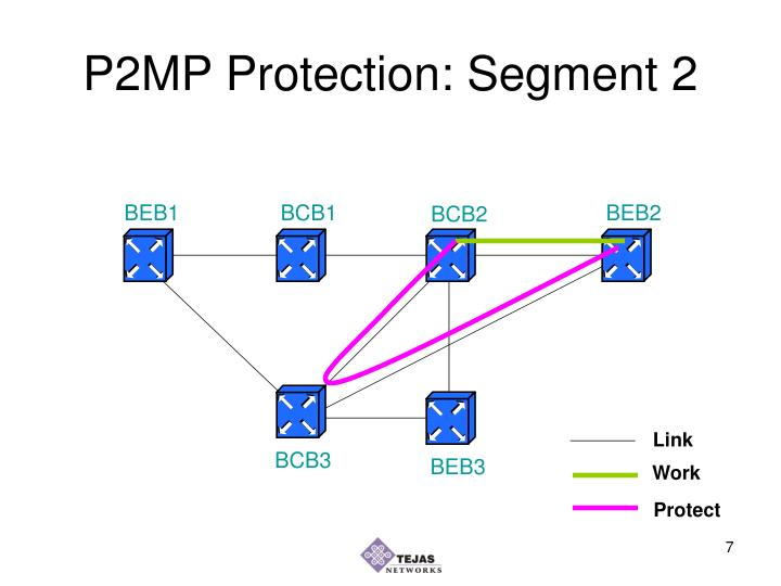 P2MP Protection: Segment 2