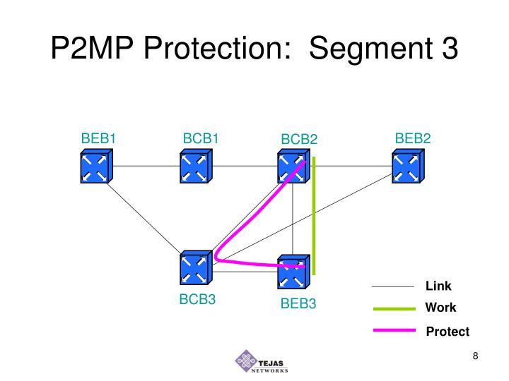 P2MP Protection:  Segment 3