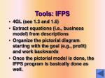 tools ifps