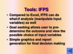 tools ifps1