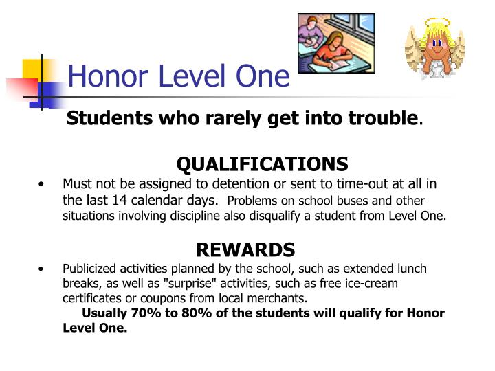 Honor Level One