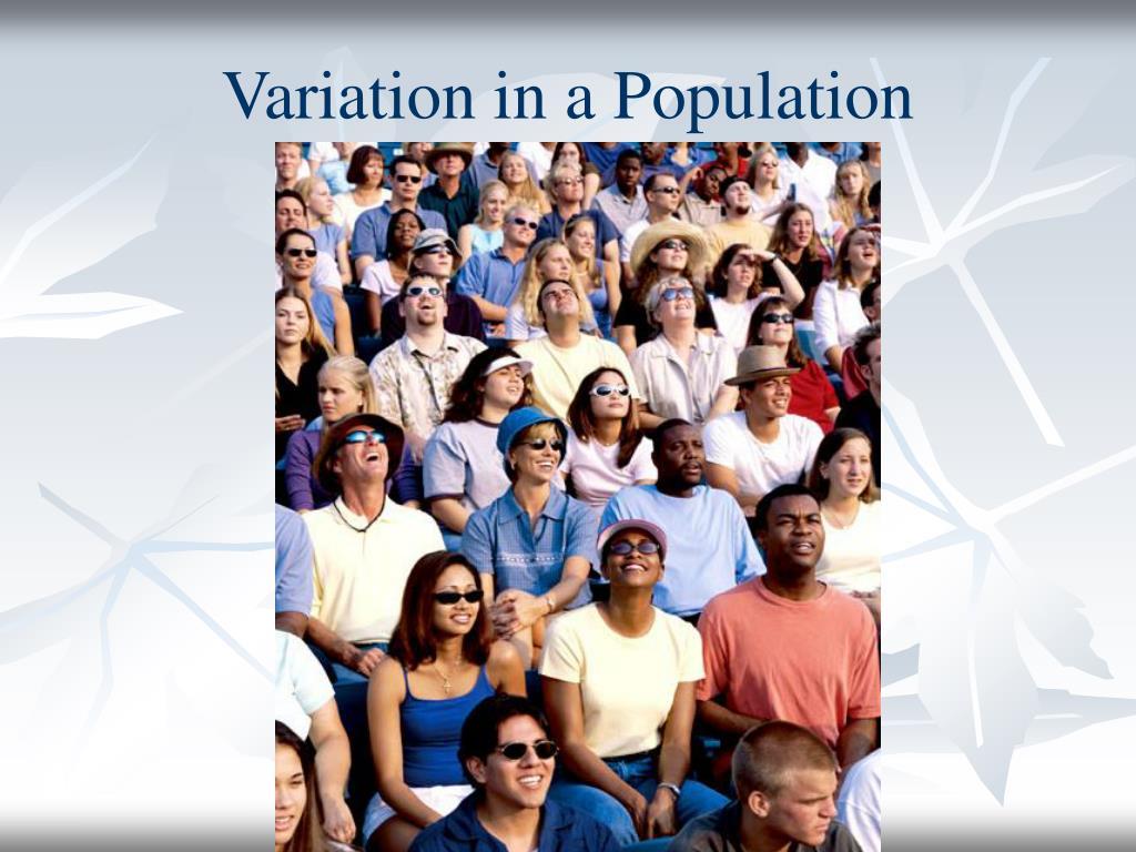 Variation in a Population
