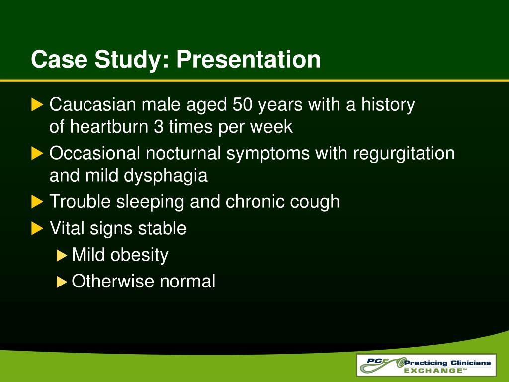 Case Study: Presentation