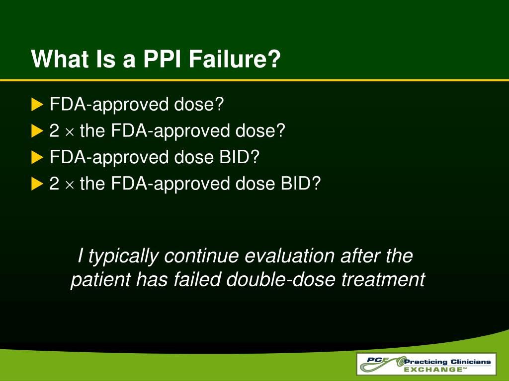 What Is a PPI Failure?