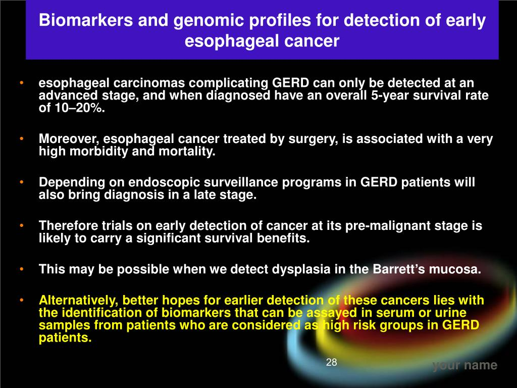 Biomarkers and genomic profiles for detection of early esophageal cancer