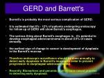 gerd and barrett s