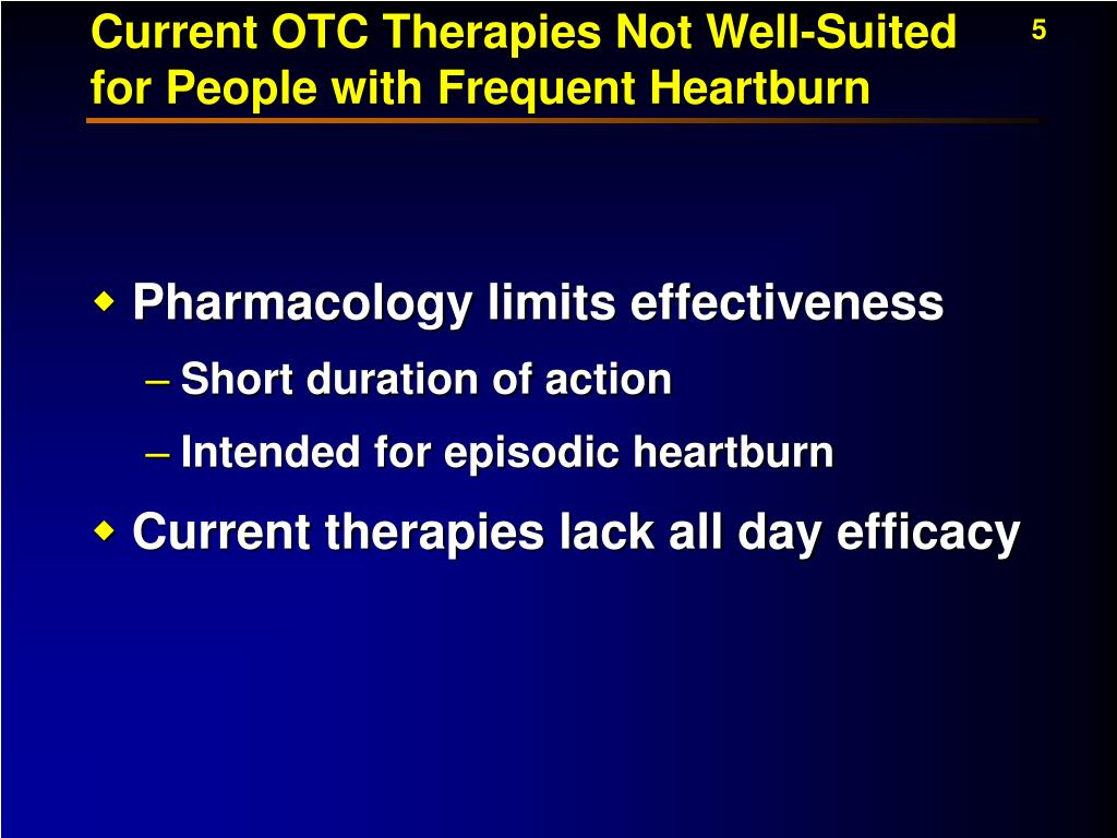 Current OTC Therapies Not Well-Suited