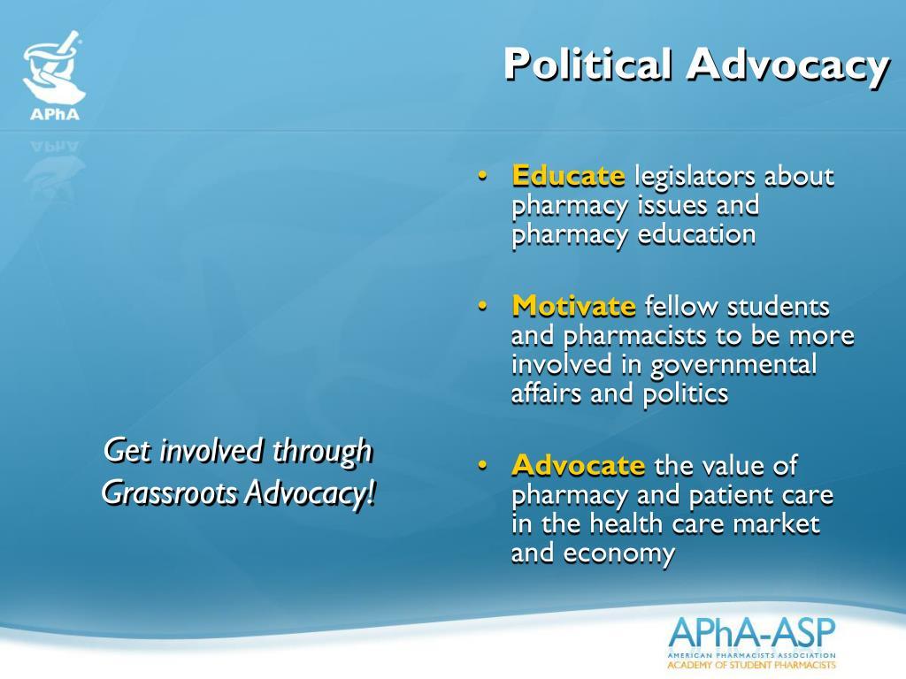 Political Advocacy
