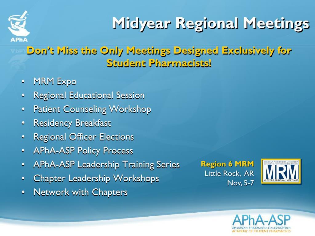 Midyear Regional Meetings