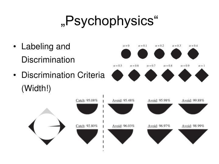 """Psychophysics"""